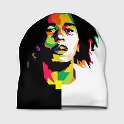 Шапка Bob Marley: Colors цвета 3D — фото 1
