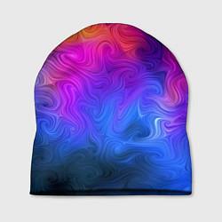 Шапка Узор цвета цвета 3D — фото 1