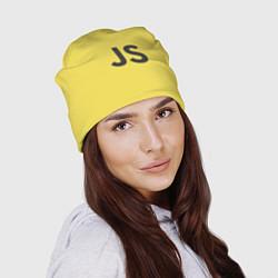 Шапка JavaScript цвета 3D-принт — фото 2