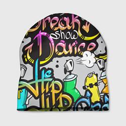 Шапка Break Show Dance цвета 3D-принт — фото 1