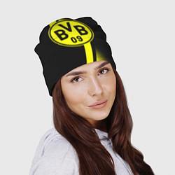 Шапка FC Borussia Dortmund: Storm цвета 3D — фото 2