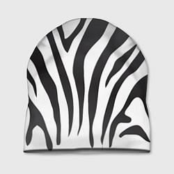 Шапка Африканская зебра цвета 3D-принт — фото 1