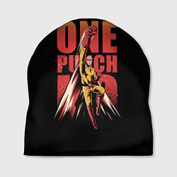 Шапка ONE-PUNCH MAN цвета 3D — фото 1