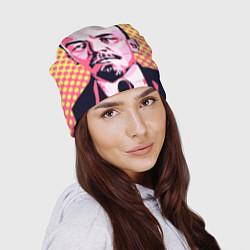 Шапка Ленин: поп-арт цвета 3D-принт — фото 2