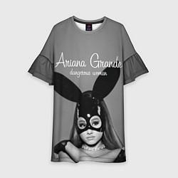 Платье клеш для девочки Ariana Grande: Rabbit цвета 3D — фото 1