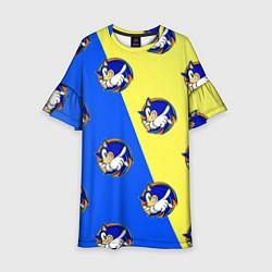 Детское платье Sonic - Соник