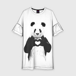 Детское платье Panda Love