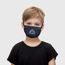 Маска для лица детская Illuminati цвета 3D — фото 1