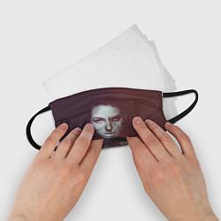 Маска для лица детская Chelsea Grin: Death Girl цвета 3D-принт — фото 2