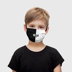 Маска для лица детская Ария Ч/Б цвета 3D — фото 1