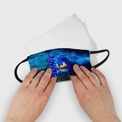 Маска для лица детская Sonik цвета 3D-принт — фото 2