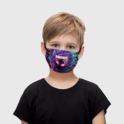 Маска для лица детская FORTNITE цвета 3D-принт — фото 1