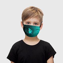 Детская маска для лица AMONG US