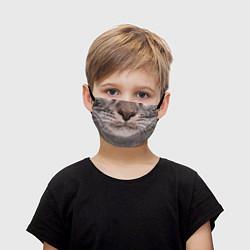 Маска для лица детская Котик цвета 3D — фото 1
