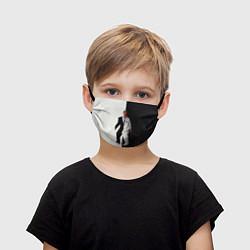 Детская маска для лица Eminem: Black & White