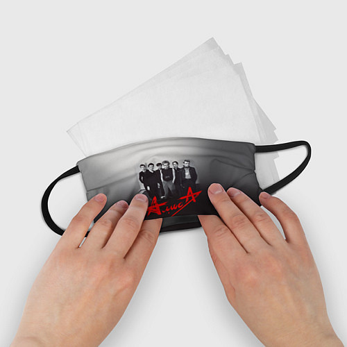 Детская маска для лица АлисА: Трасса E95 / 3D – фото 2