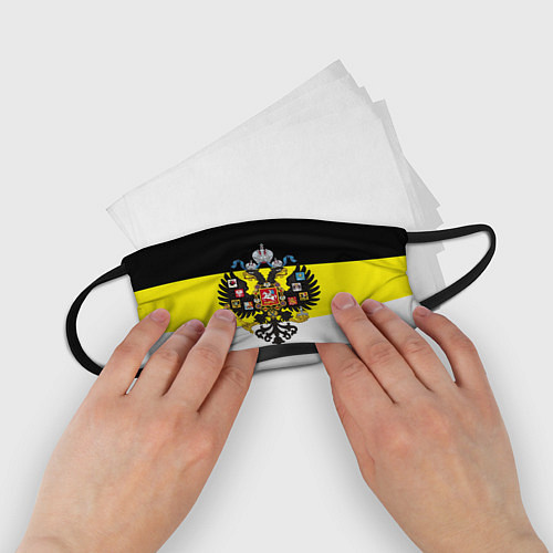 Детская маска для лица Имперский Флаг / 3D – фото 2