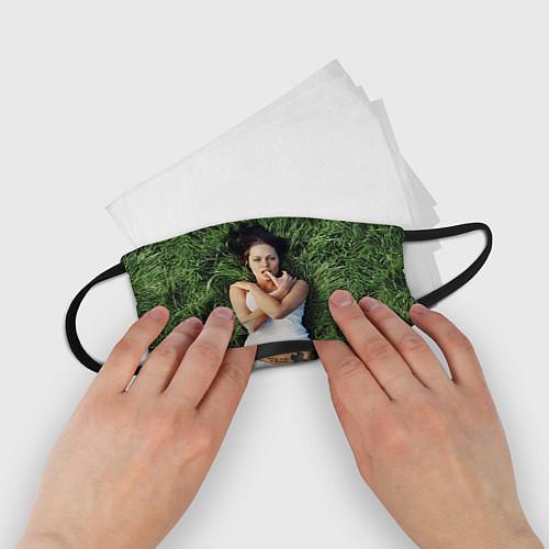 Детская маска для лица Анджелина Джоли / 3D – фото 2