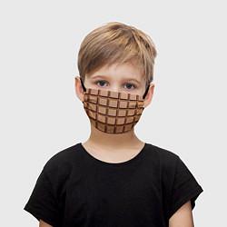 Детская маска для лица Шоколад