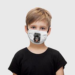 Детская маска для лица KISS: Adult demon wig