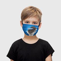 Маска для лица детская Oreo цвета 3D — фото 1