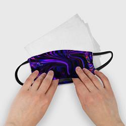 Маска для лица детская Цветные разводы цвета 3D — фото 2