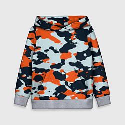 Толстовка-худи детская CS:GO Asiimov Camouflage цвета 3D-меланж — фото 1