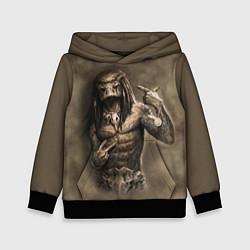 Толстовка-худи детская Rap Predator цвета 3D-черный — фото 1