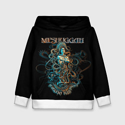 Толстовка-худи детская Meshuggah: Violent Sleep цвета 3D-белый — фото 1