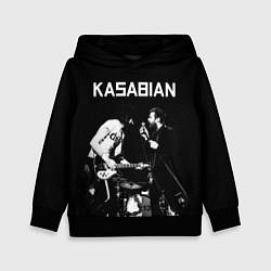 Толстовка-худи детская Kasabian Rock цвета 3D-черный — фото 1