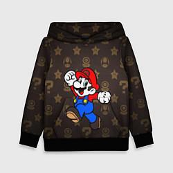 Толстовка-худи детская Mario цвета 3D-черный — фото 1