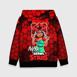 Толстовка-худи детская Nita Brawl Stars цвета 3D-черный — фото 1