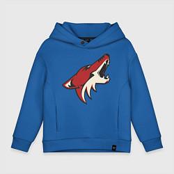 Толстовка оверсайз детская Phoenix Coyotes цвета синий — фото 1