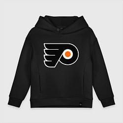 Толстовка оверсайз детская Philadelphia Flyers цвета черный — фото 1