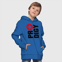 Толстовка оверсайз детская Prodigy Star цвета синий — фото 2
