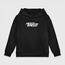 Толстовка оверсайз детская Need for Speed цвета черный — фото 1