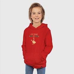 Толстовка детская хлопковая GUSSI Fashion цвета красный — фото 2
