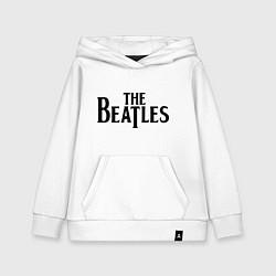 Толстовка детская хлопковая The Beatles цвета белый — фото 1