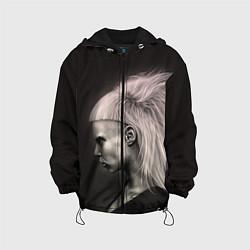 Куртка с капюшоном детская Die Antwoord GIrl цвета 3D-черный — фото 1