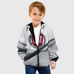 Куртка с капюшоном детская FIAT цвета 3D-черный — фото 2