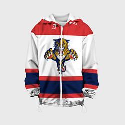 Куртка с капюшоном детская Florida Panthers цвета 3D-белый — фото 1