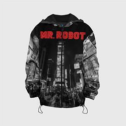 Куртка с капюшоном детская Mr. Robot City цвета 3D-черный — фото 1