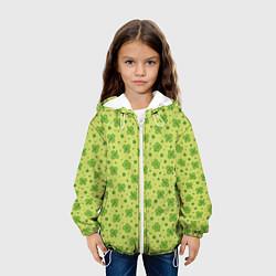 Куртка 3D с капюшоном для ребенка Клевер - фото 2