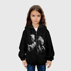 Куртка с капюшоном детская Die Antwoord: Black цвета 3D-черный — фото 2