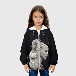 Куртка 3D с капюшоном для ребенка Die Antwoord: Black Girl - фото 2