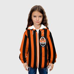 Куртка с капюшоном детская ФК Шахтер Донецк цвета 3D-белый — фото 2