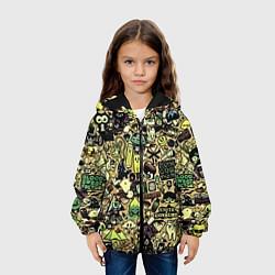 Куртка 3D с капюшоном для ребенка Стикер бомбинг - фото 2