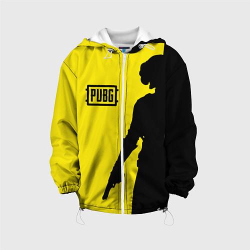 Детская куртка PUBG: Yellow Shadow