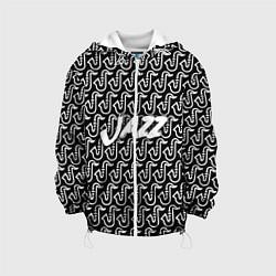 Детская 3D-куртка с капюшоном с принтом Jazz, цвет: 3D-белый, артикул: 10144685705458 — фото 1