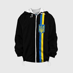 Куртка с капюшоном детская Украина цвета 3D-белый — фото 1
